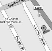 Bloomsbury Practice - Google Map